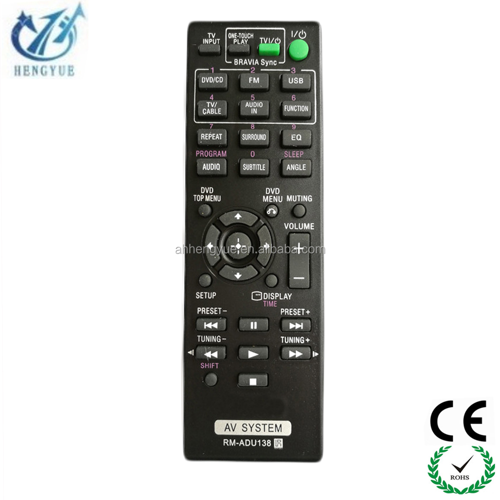 Universal Remote Control Codes Dvd For Sony Rm Adu138 Home Theater System Controle Remoto Controller