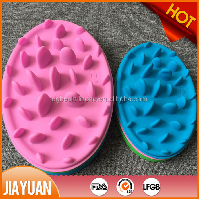 Pizza Design Decorative Slow Feed Silicone Dog Bowl