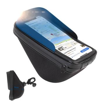 New Design touch Screen Smartphone Bike Holder Case Waterproof Bag for Bicycle and Motorcycle to Storage Gadgets