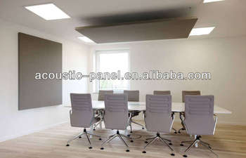 Textile Suspend Acoustical Panel Acoustic Foam Sound Absorption Panels  Ceiling Tiles
