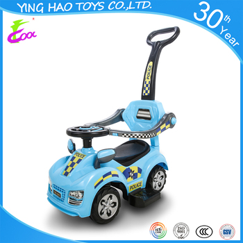 High Quality 360 degree steering wheels Baby pedal ride on push car