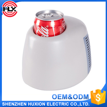 0.5L warmer and cooler mini bar fridge,mini portable refrigerator for car