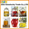 2016 Wholesale glass beverage dispenser with tap