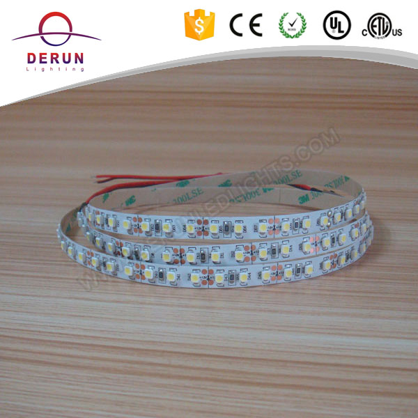 3528 flat LED stripe 12V cool white 120leds/m non-waterproof IP20