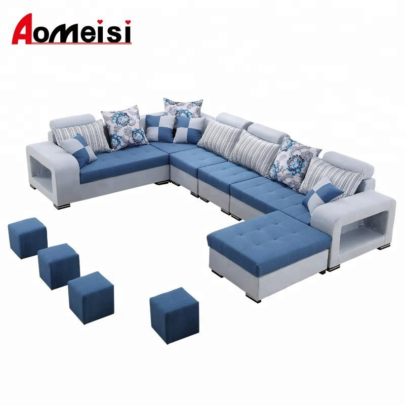 GN109 fabric U shaped sectional <strong>sofa</strong>,living room <strong>sofa</strong> set, wholesale price