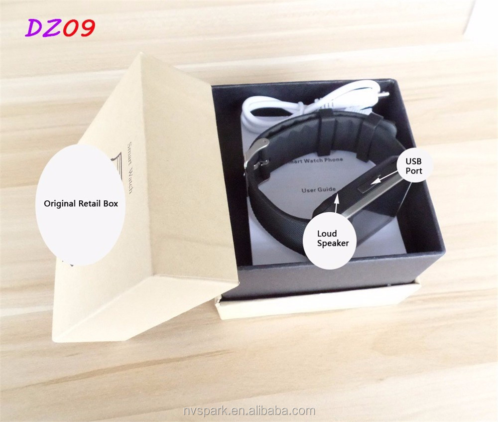 Factory Wholesale Price Dz09 Smart Watch <strong>Phone</strong>