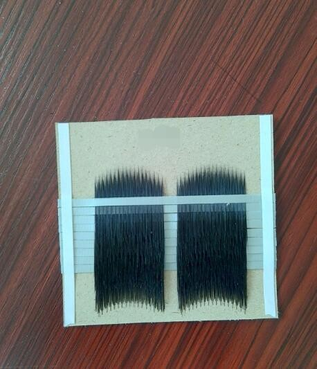 Hylon Korea synthetic eyelashes semi-finished eyelash factories with Form E