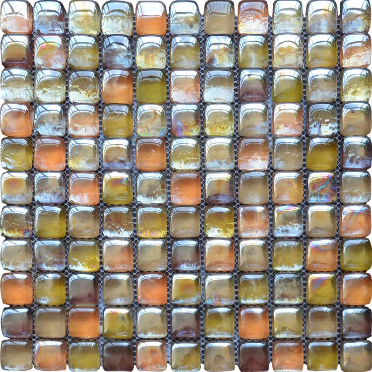 Shining Glass Mosaic Production Line2 Inch Mosaic Tilespanish