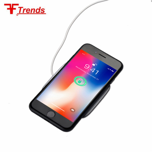 wholesale fast portable mobile phone wireless charger plate stand for iphone for samsung etc.