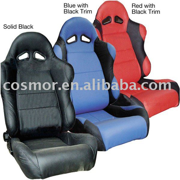 car accessories interior-Leather reclining racing seat