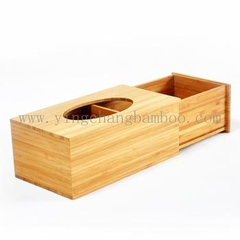 Decorative Wooden Tissue Box Cover Elegant
