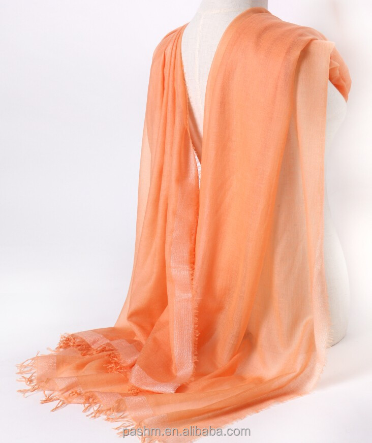 New summer 100% cashmere scarf pashmina shawls of pakistan