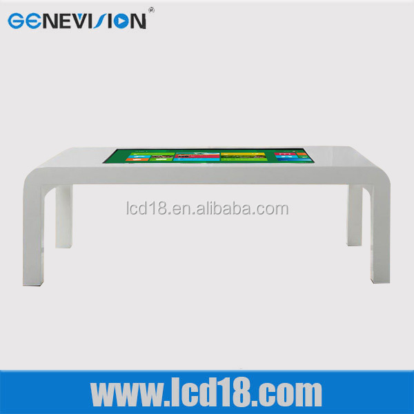 55 inch coffee table LCD screen digital tea LCD touch table 2015 hot products kiosk cabinet innovative consumer products