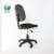 Fabric swivel drafting office computer chair without armrest