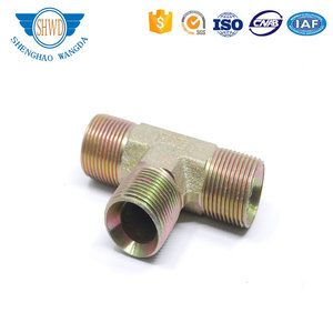 Brass fittings Brass/Bronze Female Tees with compression fittings