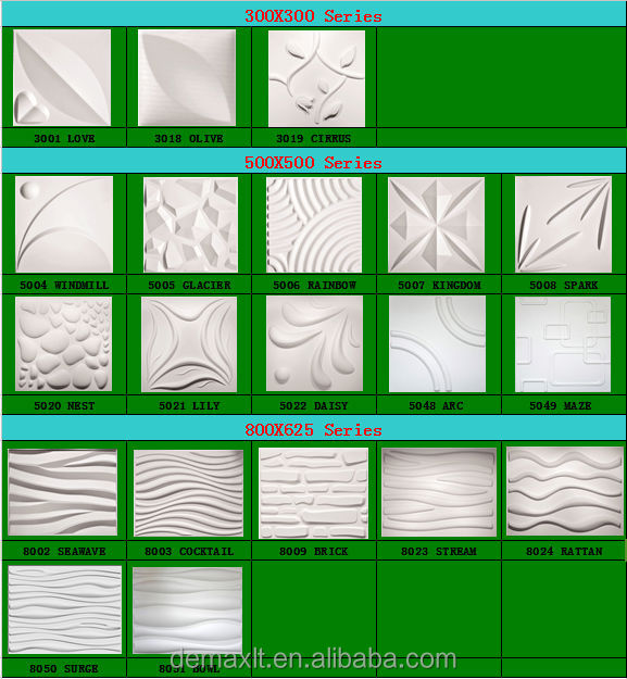 manufacturer tv background plaster of paris 3d wall panel - Plaster Of Paris Wall Designs