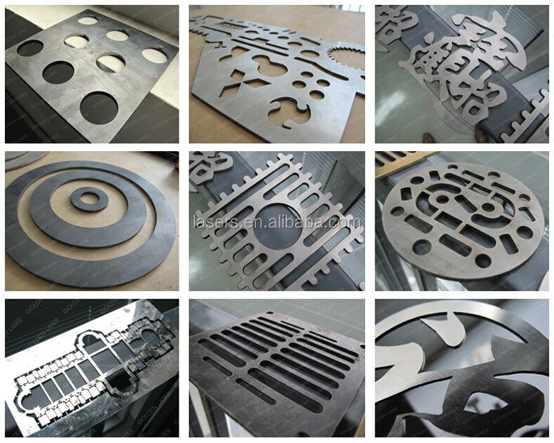 Metal Plate Fiber Laser Cutting Machine For Construction