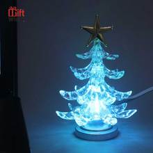 Cost-effective Colorful lights miniature christmas tree