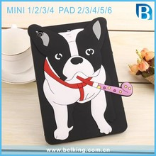 3D Dog Cartoon Tablet Case For iPad Mini 2/3/4 For iPad 4/5/6 Silicon Tab Cases