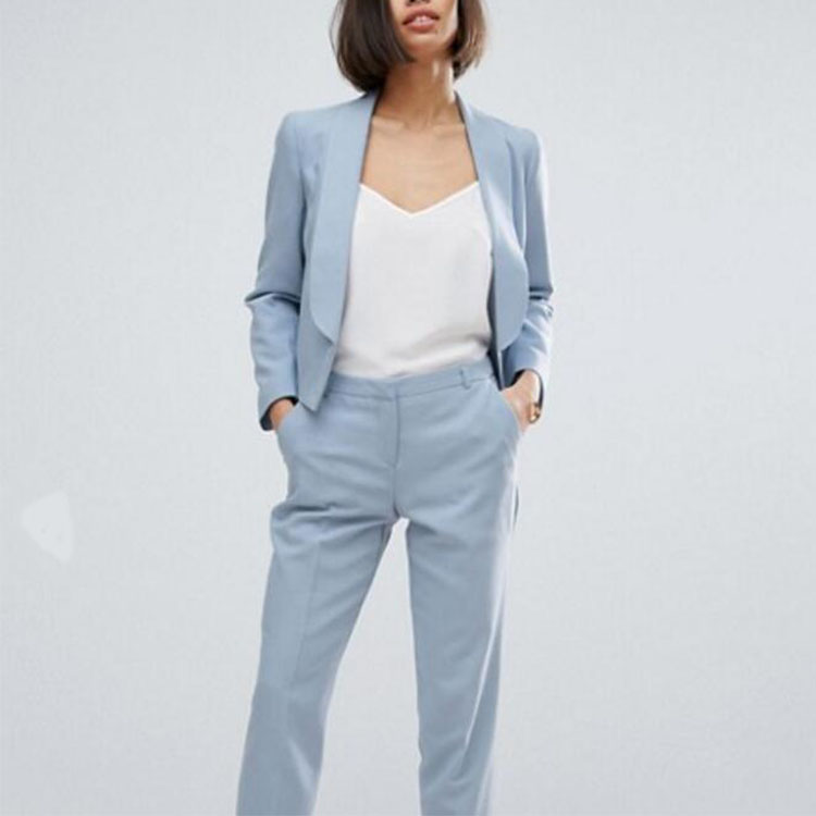Womens Light Blue Suit, Womens Light Blue Suit Suppliers and ...