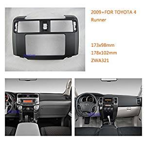 Autostereo Car Radio fascia for TOYOTA 4 Runner 2009+ Fitting Kit installation Car Radio fascia Facia Panel TOYOTA 4 Runner Stereo Fascia Dash CD Trim Installation Kit