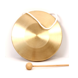 Children percussion instrument copper gong