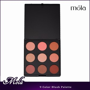 Stock & OEM natural 9color makeup blush palette low MOQ