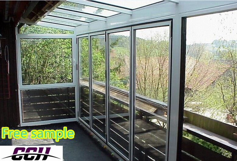 New Design Aluminum Sunroom Winter Garden Glass House Greenhouse