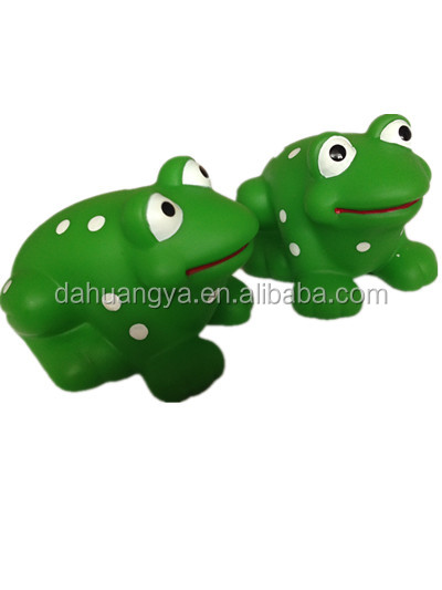 Hight Quality Baby Bath Toys Floating Plastic Frogs