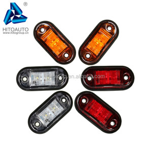 HT-TLS061 Waterproof Led Semi Truck Custom Oval Marker Lights