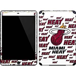 NBA Miami Heat iPad Mini (1st & 2nd Gen) Skin - Miami Heat White Blast Vinyl Decal Skin For Your iPad Mini (1st & 2nd Gen)