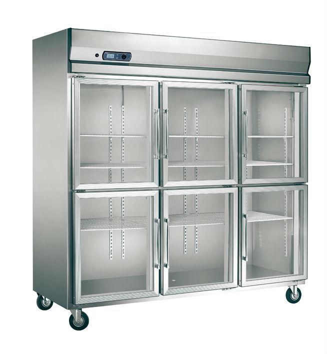 Big Capacity Food Storage Six Doors Restaurant Kitchen