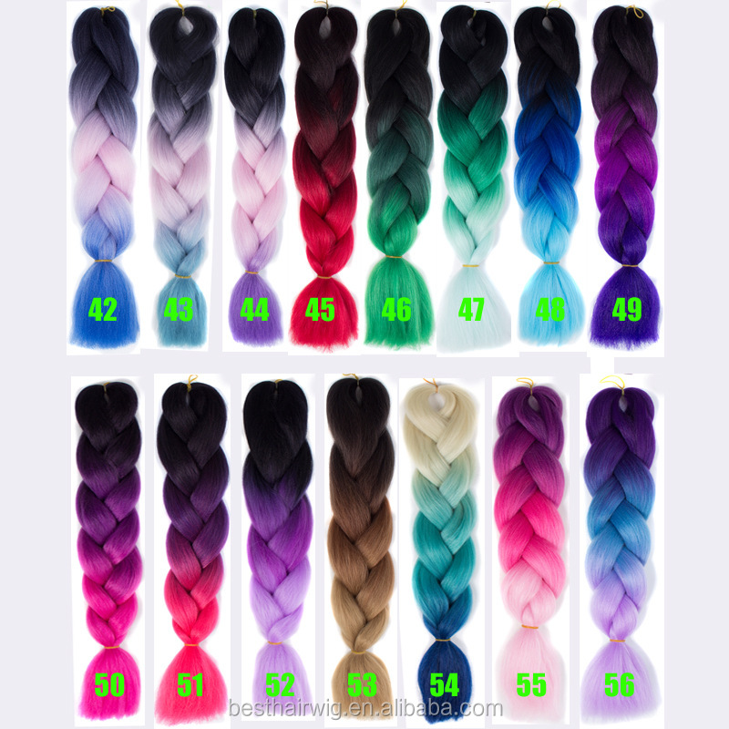 Henan xuchang toyokalon braiding hair ,men and women fashion accessory angels 100% synthetic hair products