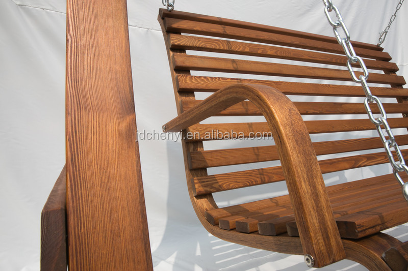 veranda holz schaukel veranda holz schaukel sitz outdoor schaukel bank odf102 schwingen im hof. Black Bedroom Furniture Sets. Home Design Ideas