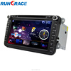 Wince 6.0 volkswagen golf 4 car dvd car radio gps navigation
