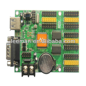 Leeman HD-E41 HD-E1 HD-Q3 HD-C3 HD-C1ethernet port USB, RS232 P10 single color display module led control card
