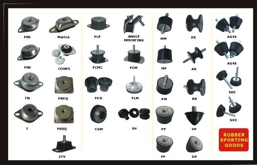 Rubber Bushing / Bushes / Buffer / Shock Absorber / Shock Mount / Vibration  Absorber / Vibration Isolator / Vibration M - Buy Rubber Bushing / Bushes