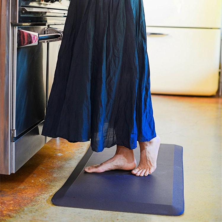 ไมโครไฟเบอร์ยาวยางพื้นห้องครัวเสื่อ