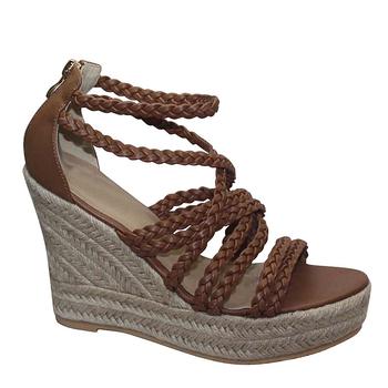 b5ad5d693f5cb Unique Design Hot Sale Peep-toe T-strap Wedge Latest Ladies Sandals ...