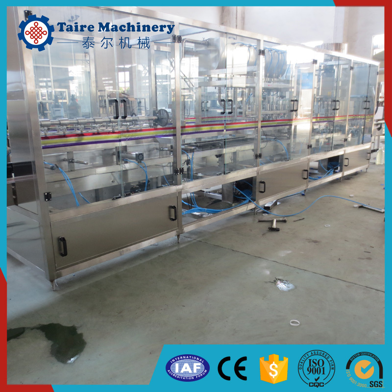 Newly Small Capacity Linear Type Olive Oil Filling Machine