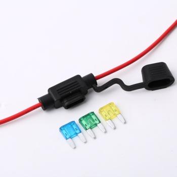 Standard Blade Fuse Block /mini Car Switch Power Line Fuse Waterproof on