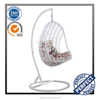 Professional Manufacturer Hanging Swing Rattan Balcony garden egg chair