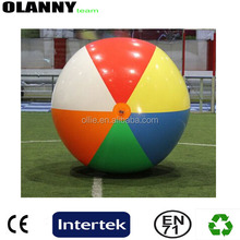 standard in bulk ECO-friendly one layer children toy PVC beach ball