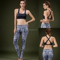 OEM ODM FACTORY 2016 fashion elegant sport fitness leggings for women exported to USA and EU good quality yoga leggings