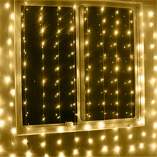High quality Led fairy string icicle led curtain lights for wedding light