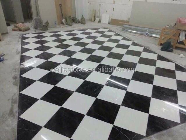 sol pvc damier noir et blanc stunning carreau de ciment. Black Bedroom Furniture Sets. Home Design Ideas