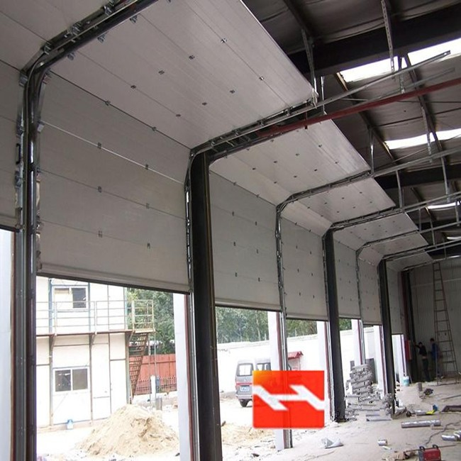 China automatic overhead sectional vertical sliding garage