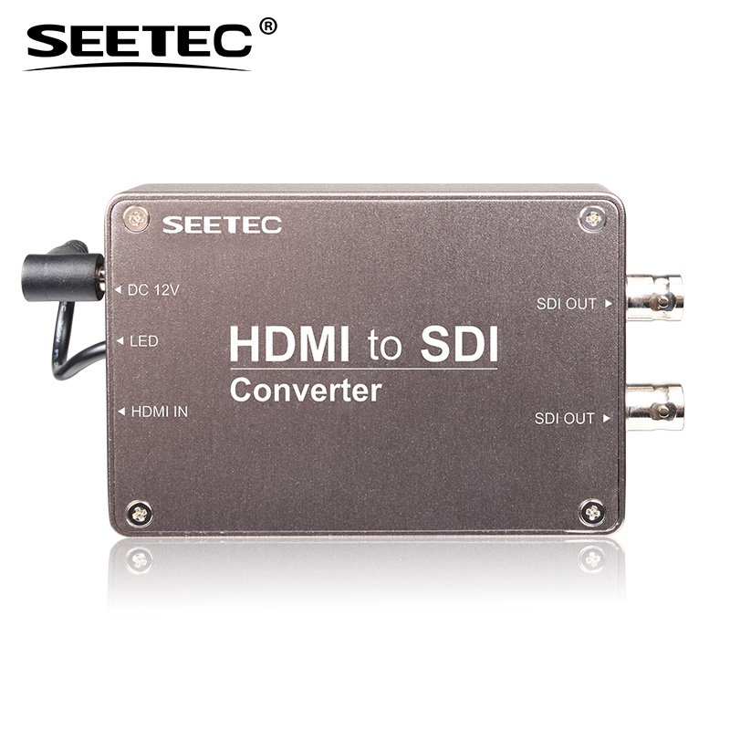 Portable design HDMI to SDI 1080p 1080i hd video converter with audio embedder