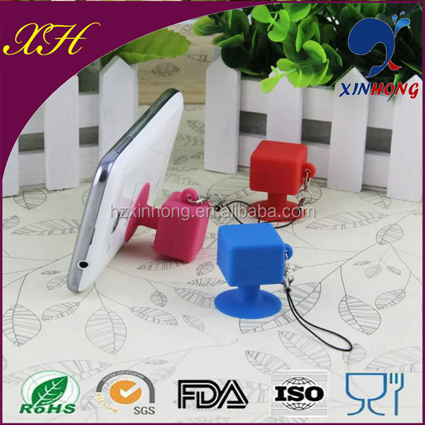 2014 New Product Mobile Phones Accessories, Silicone Phone Sucker Stand