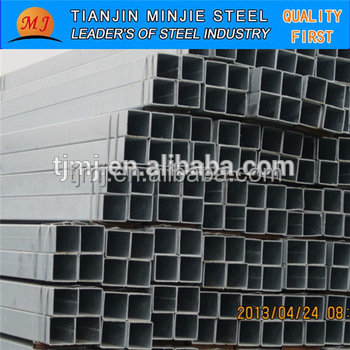 Black Square Pipe/Carbon Steel Tube/Can be galvanized in a large number of steel hollow profile in Xingang China